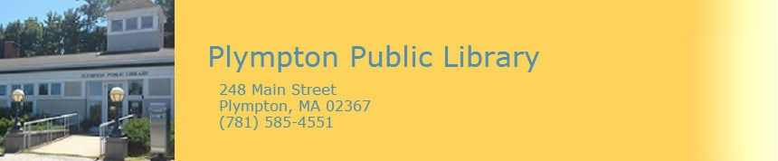 Link to Plympton Public Library Home Page
